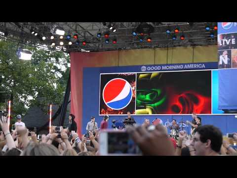 Chasing The Sun - The Wanted (Good Morning America Summer Concert Series 2012)