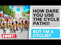 Rentitledparents quotHOW DARE YOU CYCLE ON THE CYCLE PATHquot