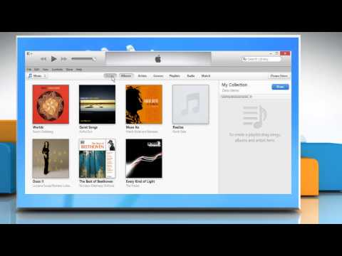 How to create song playlist in iTunes® on a Windows® 8 PC
