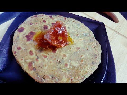 No onion no garlic recepie   masala prantha  simple masala prantha recepie