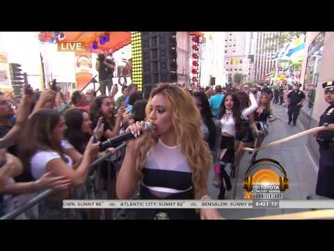 Fifth Harmony - Worth It - Today Show Summer Concert 2015