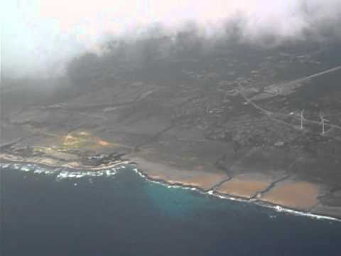 Airplane flight leaving Aruba to dive in Bonaire Fly & Dive Trip Jan 25th 2012 clip 2