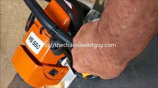 My First Experience With a Hutzl 660 Clone Saw Videos & Books