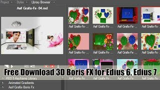hollywood fx for edius 5 free download torrent