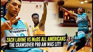 Zach LaVine vs TWO McDonald's All Americans & Tony Wroten at The Crawsover!! NASTY POSTER!