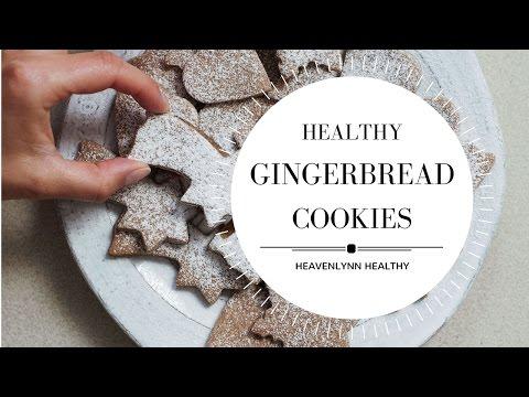 Healthy Gingerbread Cookies | Heavenlynn Healthy