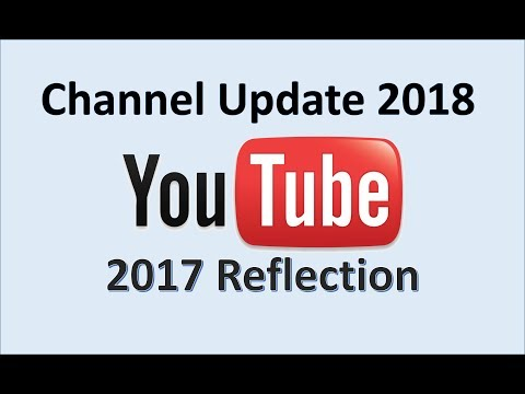 Channel Update 2018 - 2017 Reflection