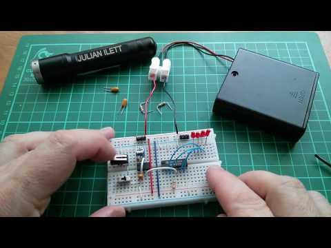 555 Timer Clock Circuit for 8-bit Computer (part 1)