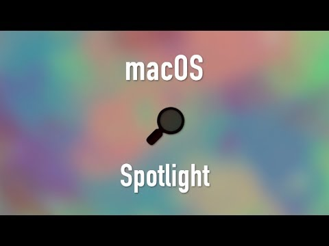 macOS: Spotlight