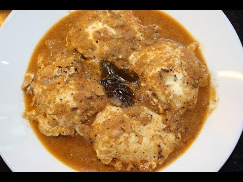Egg Gravy - Egg cooked in curry - Simple and Tasty Recipe!!!