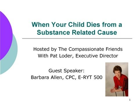 Death of a Child from Substance Related Causes