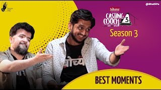 Best Moments! Casting Couch Season 3 with Amey & Nipun | #bhadipa #ccwan3