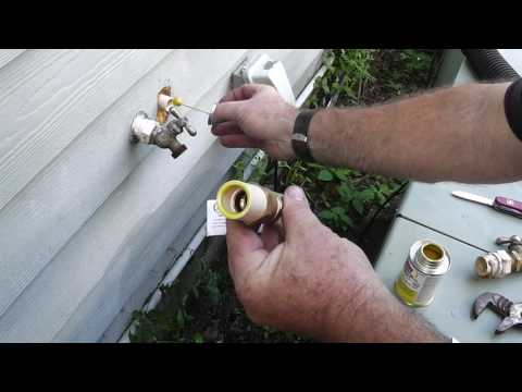 How to Replace a Spigot or Hose Bib on CPVC Pipe