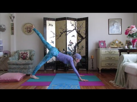 Hatha Yoga for Reducing Fat around the Belly, Waist, and Thighs