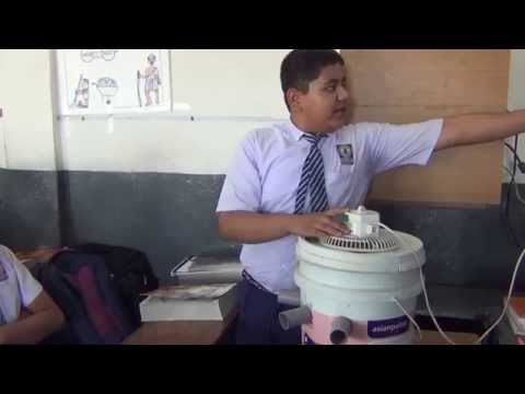 SCIENCE PROJECT BY CLASS 10, AIR COOLER BY ASHWIN