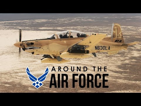 Around the Air Force: Light Attack Experiment / Next-Gen Satellites