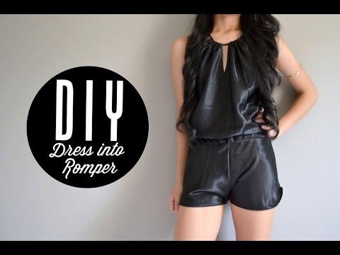 DIY Dress into Romper | Injoyy
