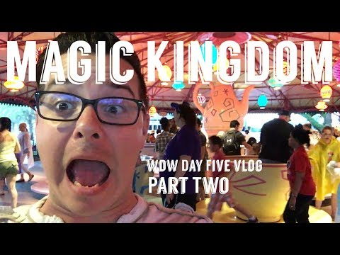 Magic Kingdom Part Two! Walt Disney World Day Five June 2017
