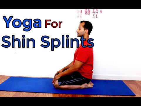 Shin Splints Yoga Stretch | Manu Kalia | Video 158 | TridoshaWellness