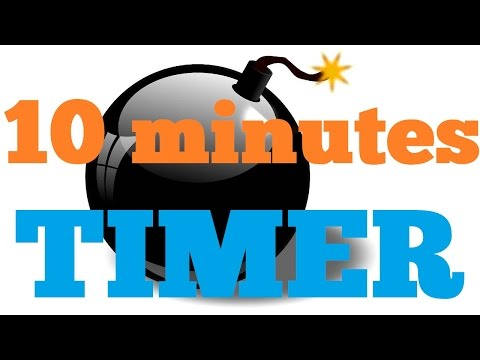 15 Second Countdown Timer With Buzzer Timer Clipart Free