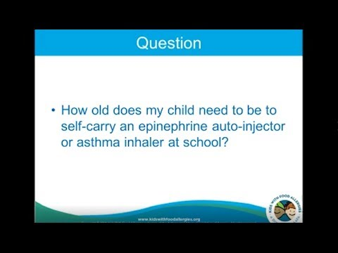 What is the Difference Between Self-Carry and Self-Administer Epinephrine?