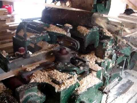 Log Siding Plainer