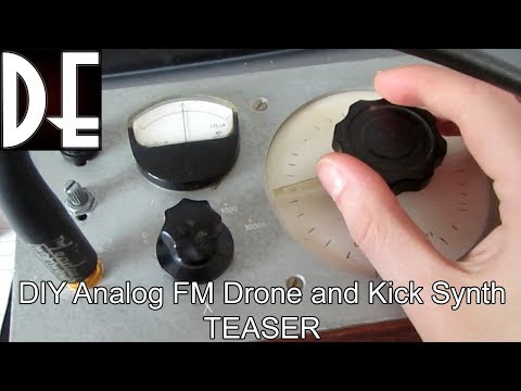 Analog FM Drone Synth - Testing the first voice