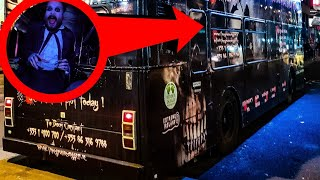 THIS HAUNTED TOUR BUS WAS NO JOKE (DUBLIN IRELAND)