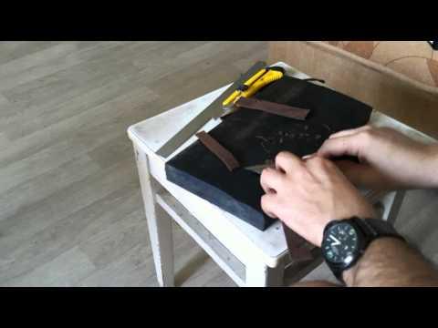 Watch strap making part 1