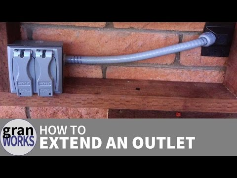 How To Extend an Electrical Outlet