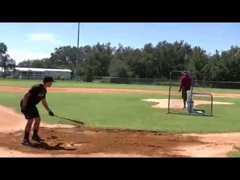 Alex hits wood bat homers in BP
