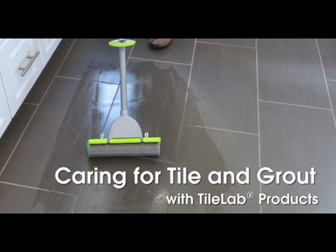 Caring for Tile and Grout with TileLab Cleaning Products