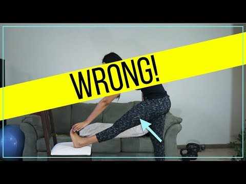 The most common Hamstring Stretch Mistake - Fix INSTANTLY