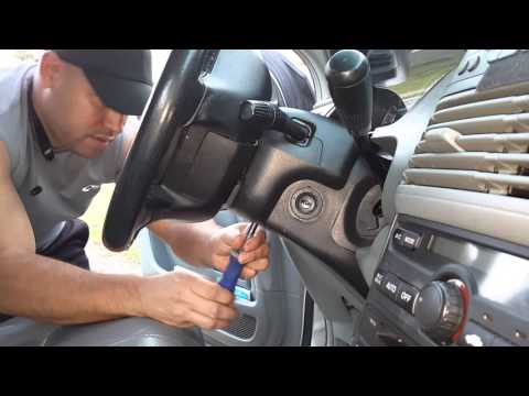 Part #1 2003-2009 Honda Pilot-Odyssey-Acura MDX lock cylinder-immobilizer replacement