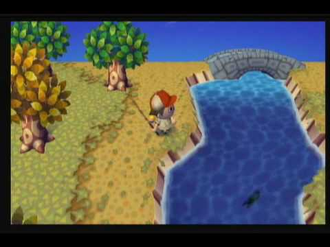 Animal Crossing City Folk - Catching A... TIRE?