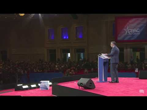 JW Pres Tom Fitton @ CPAC 2018: 'There IS evidence of Clinton/FBI/Russia collusion against Trump'