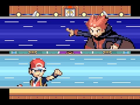 Pokémon FireRed - Elite Four Lance battle