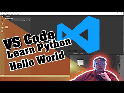 Learn Python | VS Code | Python Hello World Tutorial