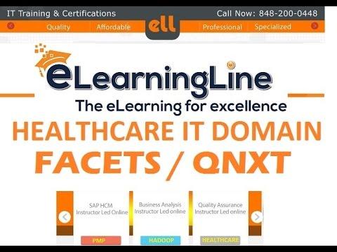 Facets/QNXT  training |facets online demo tutorials | Trizetto Facets online tutorials