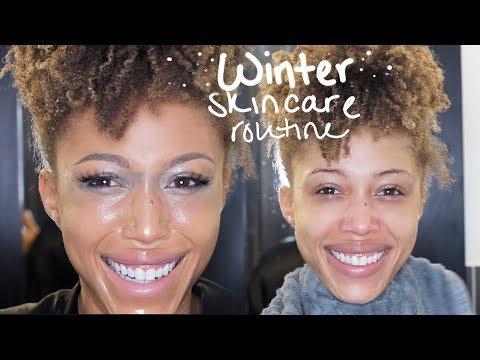 My Winter Nighttime Skincare Routine