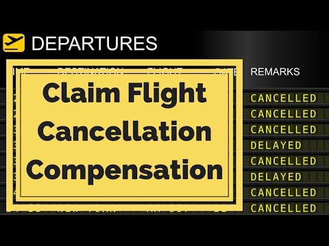 Claim Compensation For Flight Cancellation Or Delay- £540 Compensation