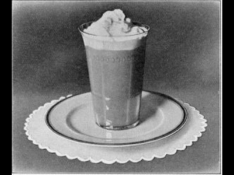 How to Make Iced Coffee Vintage Old Recipe Cold Beverage