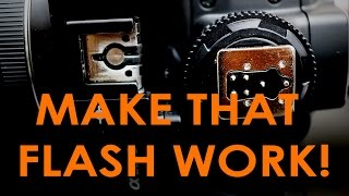 Hack | Canon Flash on Sony A7 Series Body using Yongnuo
