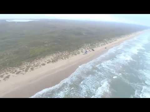 Padre Island National Seashore Drone Video
