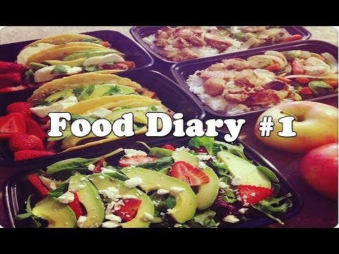 ★ Healthy Weight Loss Food Diary #1 ★