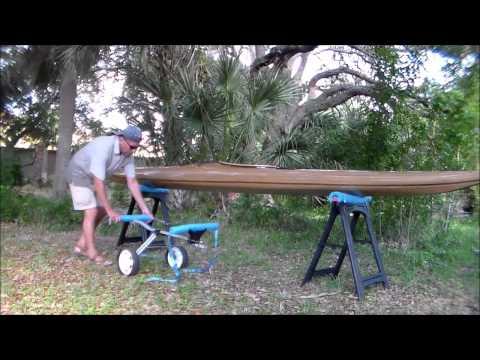 DIY Kayak Dolly