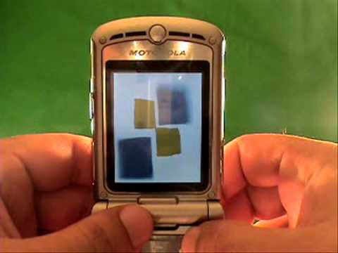 How To Unlock A Fido Motorola V190