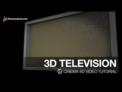 Cinema 4D Video Tutorial: 3D TV