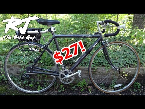 How To Find Incredible Bike Bargains/Deals On eBay! (like a Cannondale for $27)