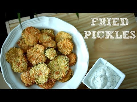 AIR FRYER FRIED PICKLES RECIPE | SEREIN & CHRIS
